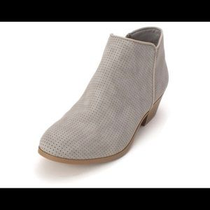 Gently Used St. John's Bay Gray Booties!